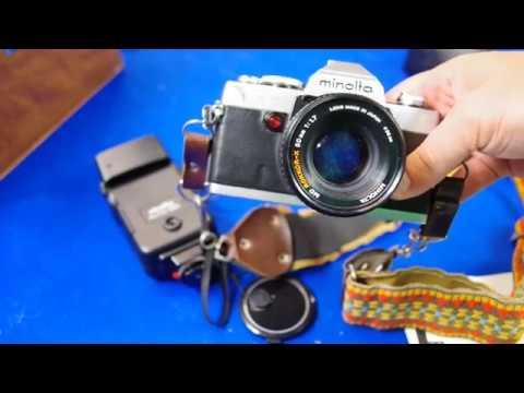 minolta xg7 vintage camera overview youtube
