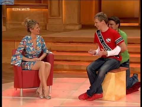 Barbara Schoeneberger Sexy Kleid Frei Schnauze Xxl 10 10 09 Legqueensworld video