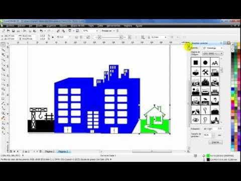 Curso de CorelDraw X5 - Duplicar,alinear,ordenar objetos - Part 3