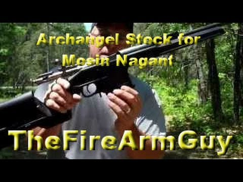 Archangel Stock for the Mosin Nagant - Feeding Issues - TheFireArmGuy