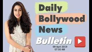 Latest Hindi Entertainment News From Bollywood | Sara Ali Khan | 09 April 2019 | 7:00 AM