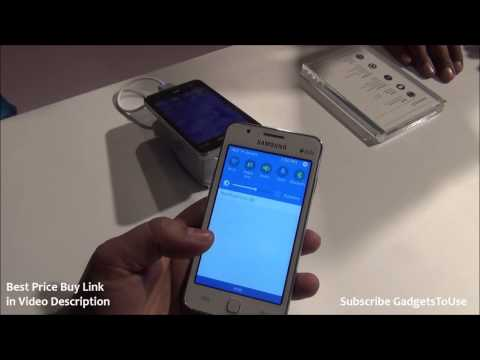 Samsung Z1 Tizen OS Phone Hands on Review. Camera and Features Overview