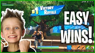 Victory Royale in Season 5 with Awesome New SKIN!!!