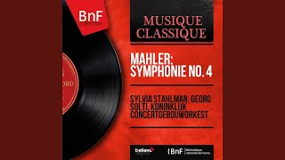 Symphonie No 4 In G Major Iv Wir Geniessen Die Himmlischen Freuden Sehr Behaglich