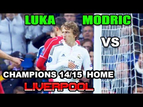 Luka Modric vs F.C Liverpool AWAY UCL 2014/2015 ( 04/11/2014 - 04.11.2014 ) [HD]