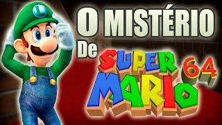 A Lenda de Luigi em Super Mario 64