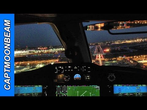 Cessna Citation Mustang Landing Chicago O'Hare Airport, Cockpit View and ATC Radio Communications