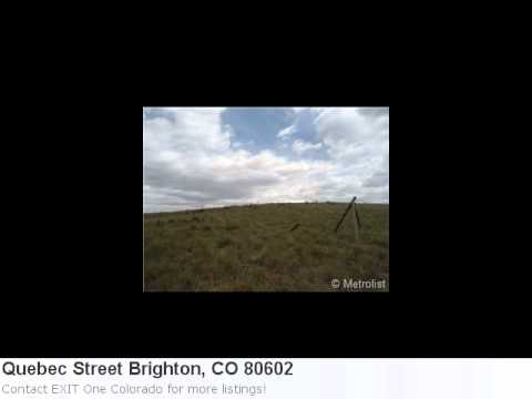 Brighton, Co Featured Land Listing Of The Day: 3.95 Acres Ju