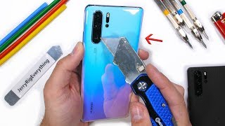 Huawei P30 Pro Durability Test - Breathing Crystal?!