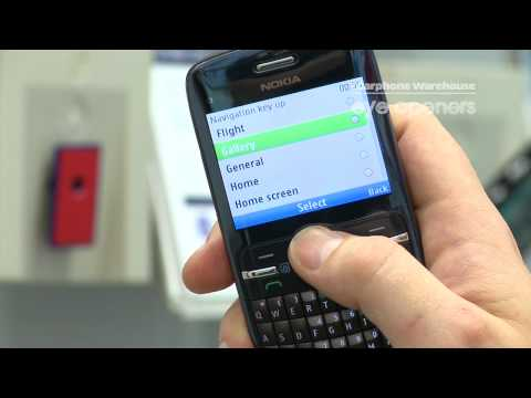 Nokia C3; Assigning shortcut buttons - The Carphone Warehouse - eye openers
