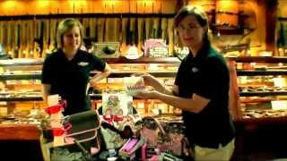 top gun arms - firearms for women - pink and purple guns video