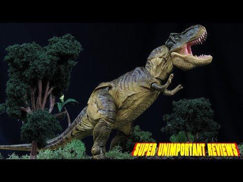 Revoltech The Lost World: Jurassic Park T-Rex Sci-Fi Series 029 Tyrannosaurus Rex Figure Review