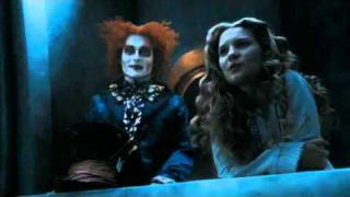 Alice in Wonderland 2010 - best scene