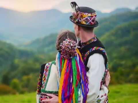 Гуцулка кохана. Українська народна пісня