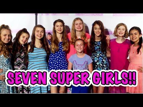 SEVEN SUPER GIRLS! | ORLANDO EYE | [DAILY VLOG]