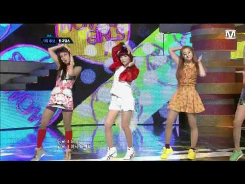 120614 Wonder Girls - Like This  M Countdown Comeback video