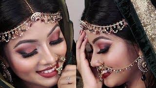 Traditional Asian Bridal Makeup Tutorial 2017 | Bangladesi/ Pakistani/ Indian Wedding Makeup