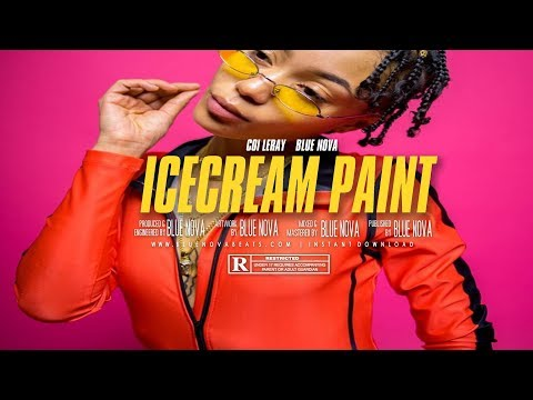 FREE Coi Leray Type Beat - quotICECREAM PAINTquot  Instrumental  Prod. BlueNovaBeats