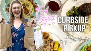 How a Professional Food Stylist Does Curbside Takeout | How To Plate Takeout Food At Home