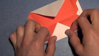 Fold An Origami Window Heart Card!  Designed By Jeremy Shafer