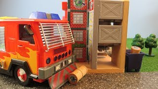 Fireman Sam Toys Episode 21 Fire Factory Hollywood Jupiter Toy 2019 Firefighter Sam Fire Station