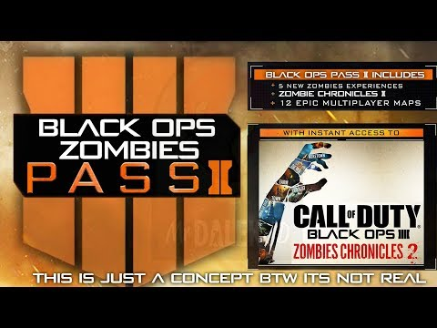 BLACK OPS 4 ZOMBIES SEASON 2 TEASED: DLC 5 & Zombie Chronicles 2 in 2019/2020?