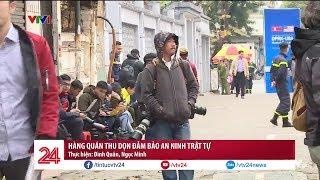 Hàng quán thu dọn đảm bảo an ninh trật tự trước Hội nghị thượng đỉnh Mỹ - Triều Tiên | VTV24