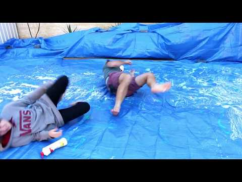 Slip 'N' Slide of Death - (Feat. HowToBasic) - *BLOOD WARNING* - World Cup
