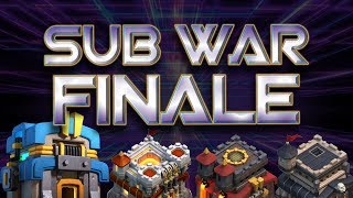 SUBSCRIBER WAR FINALE! - Clash of Clans