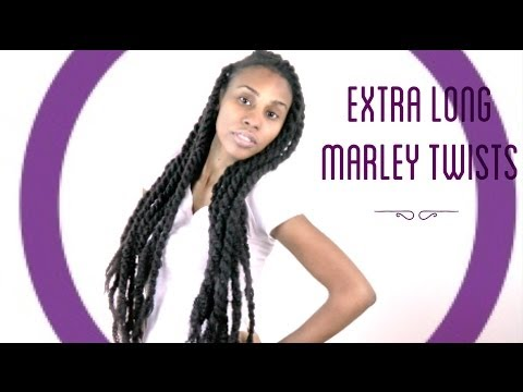 How to Create Extra Long Marley/Havanna Twists