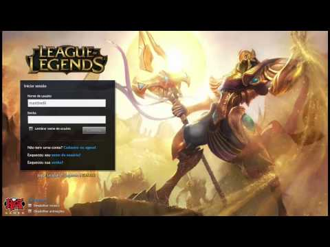 Login Screen - Azir [PT-BR]