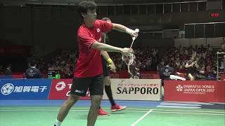 Daihatsu Yonex Open 2017 | Badminton SF M2-MD | Ino/Kan vs Iva/Soz