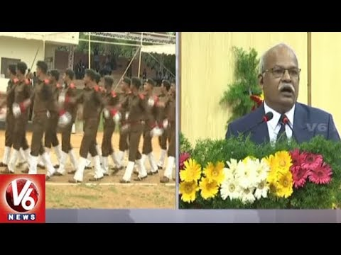 5th Forest Range Officers Convocation Grandly Held In Telangana Forest Acadamy | V6 News