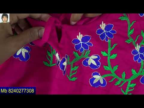 simple top with embroidery designs | creative | beautiful | online design