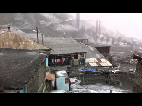 Rutulsky District of Dagestan. Village Keane