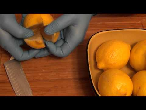 How to Make Moroccan Preserved Lemons