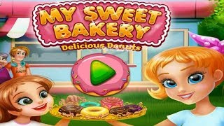 My Sweet Bakery Donut Shop Colours for Kids Animation Education Cartoon Compilation