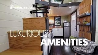 Luxurious Amenities | Tiny House, Big Living | HGTV Asia