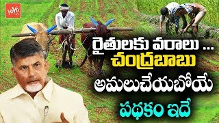 CM Chandrababu Naidu to Announce New Scheme for Farmers | AP Govt | TDP