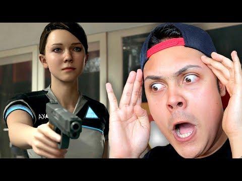 KARA USES THE GUN AT THE STORE (Detroit Become Human) #4