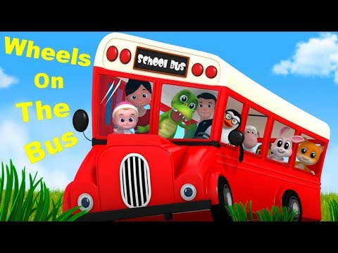 Wheels On The Bus | Junior Squad Nursery Rhymes For Toddlers | Song For Children