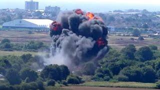 İngiltere'deki Havacılık şovunda Uçak Kazası: En Az 7 ölü