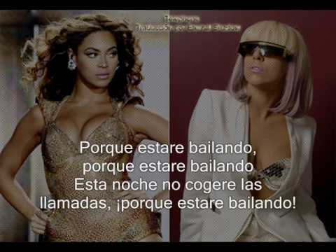 Lady Gaga Feat. Beyonce telephone Subtitulado Español video