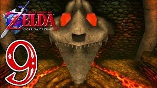 Zelda Ocarina of Time 3D [German][100%][#9] Bombenstimmung in Dodongos Höhle!