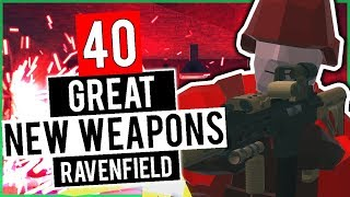 40 Great NEW Weapons For Ravenfield! | Ravenfield's Best Mods (Early Access 14 Beta Branch Gameplay)