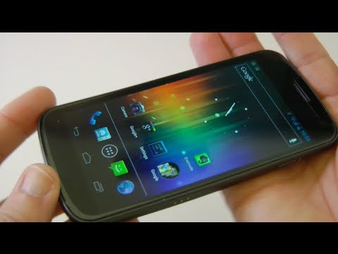 Galaxy Nexus Mobile Phone First Look