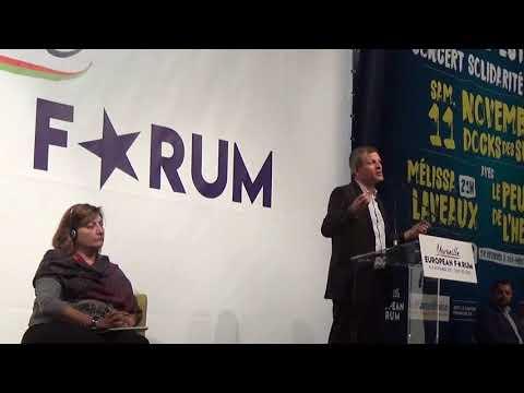 Intervention de Guillaume Balas au European Forum de Marseille