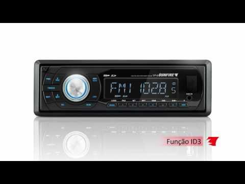 MP3 Automotivo Sunfire YF-6