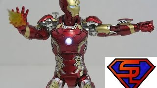 Avengers Age Of Ultron Comicave Studios Mark XLIII Iron Man Omni Class 1/12 Scale Figure Review