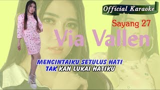Karaoke ~ SAYANG 27 _ tanpa vokal   |   Official Karaoke